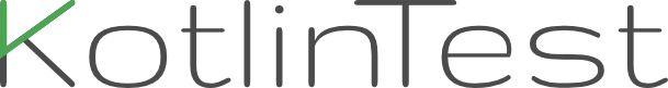 Kotlintest logo
